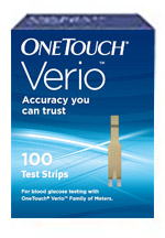 100ct one touch verio retail