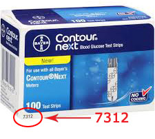 Bayer Contour Next 7312